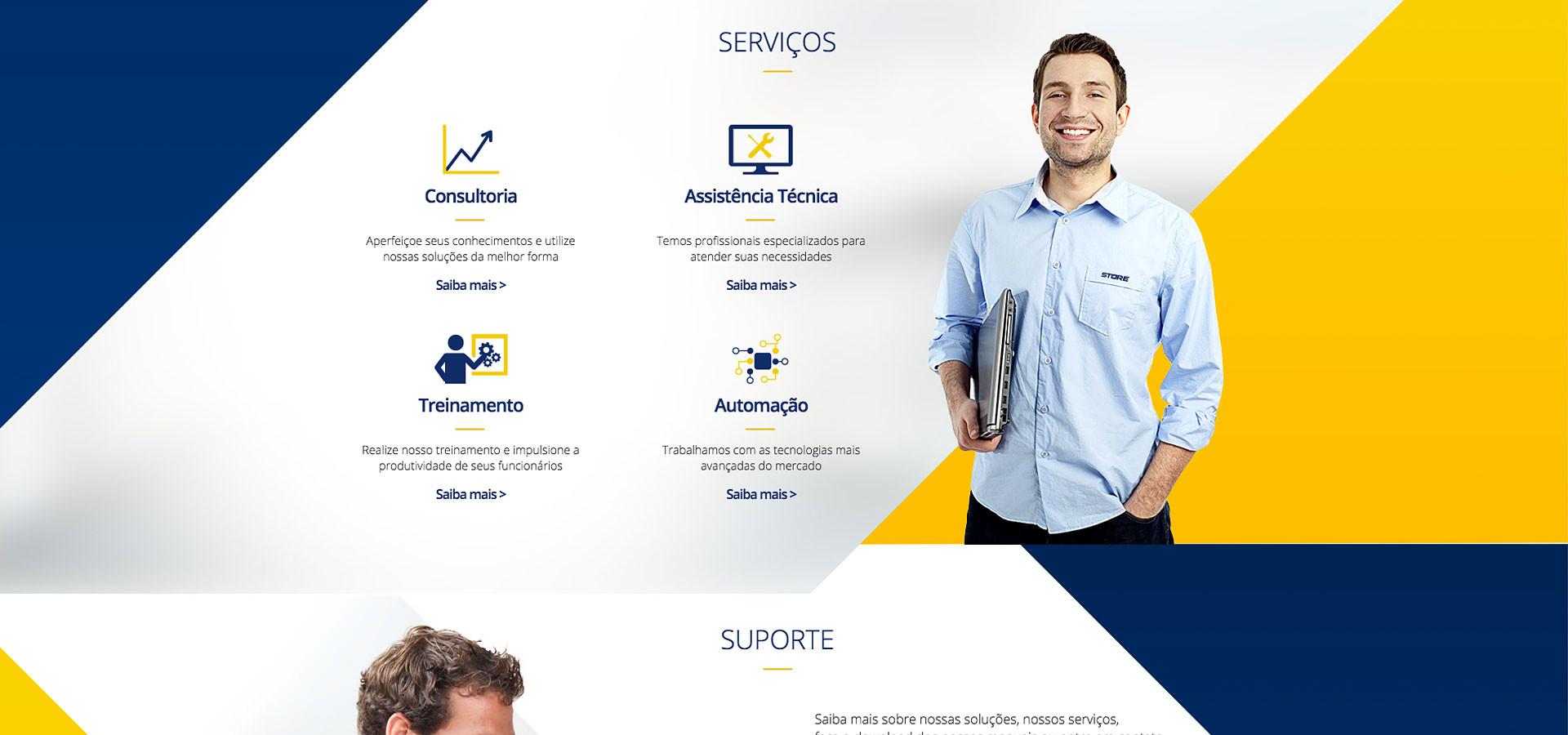 Serviços site Store Computer by Neurodigital