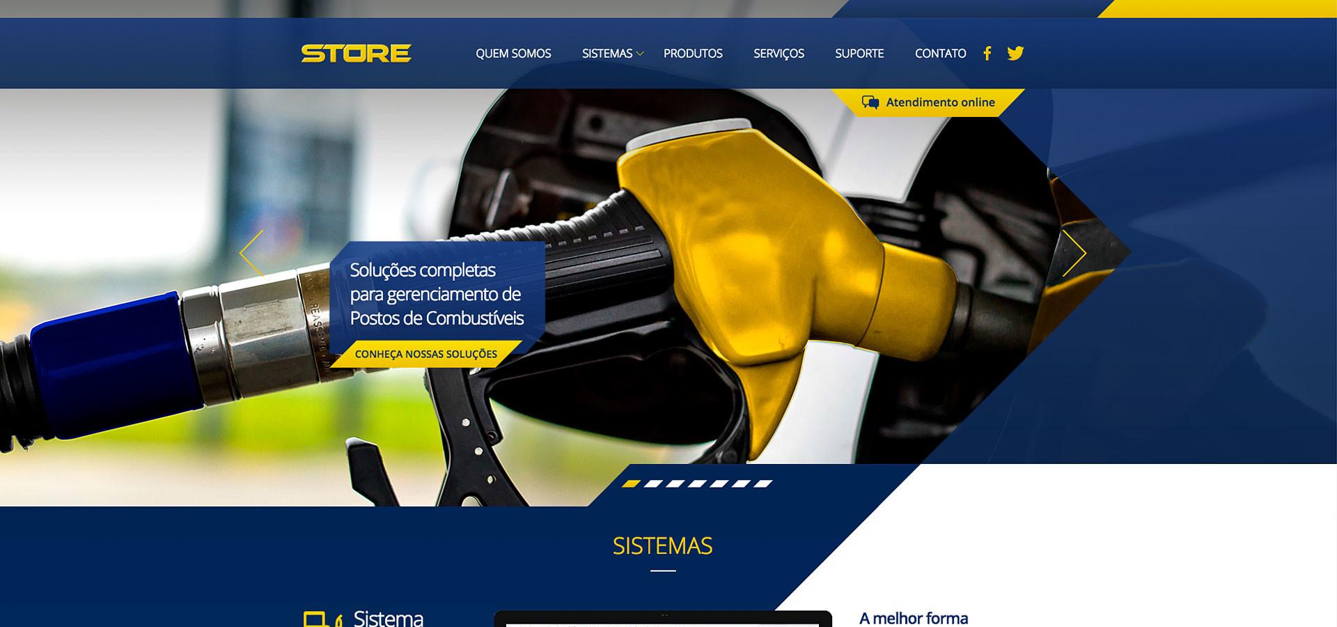 Página Inicial site Store Computer by Neurodigital