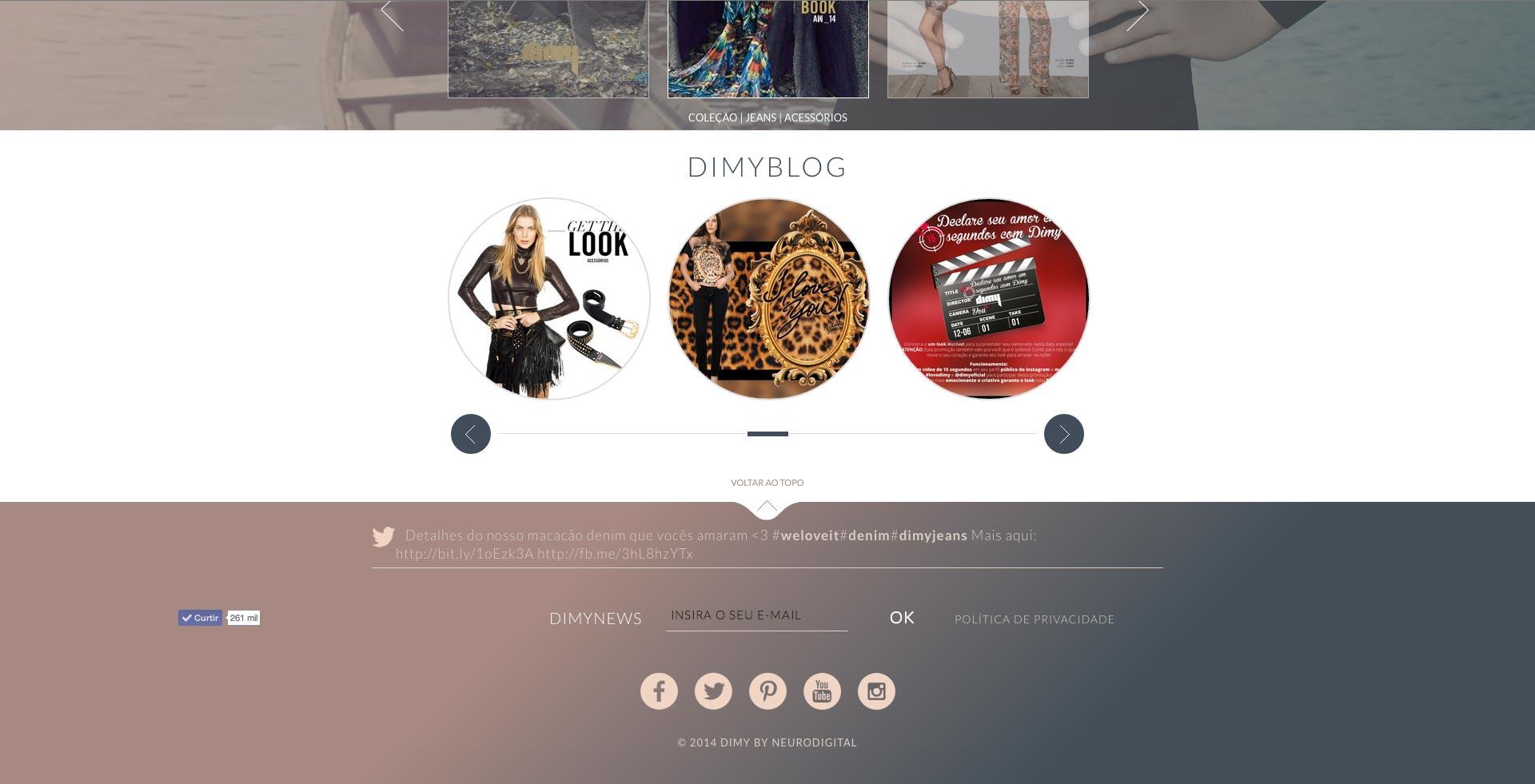 Dimy - Blog na home