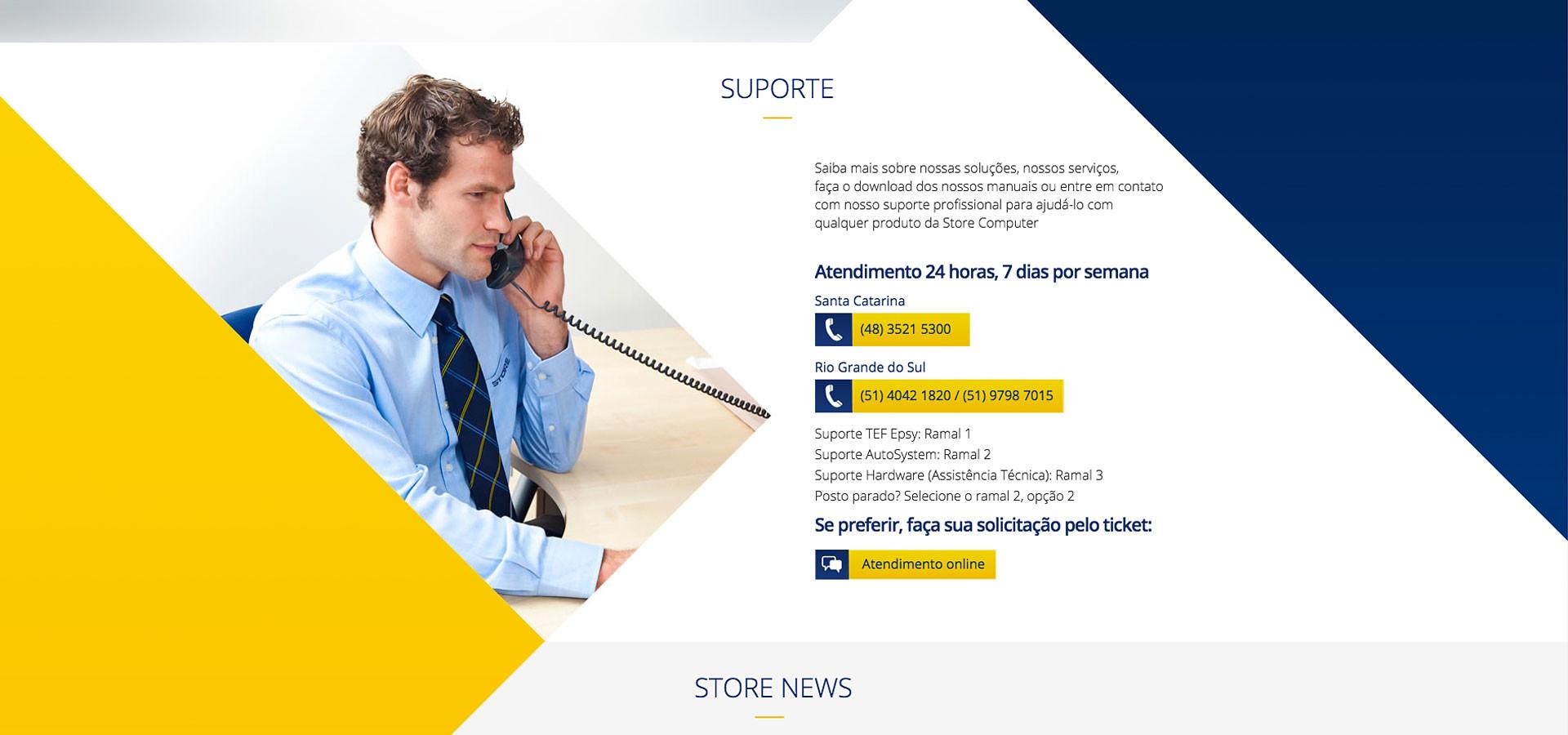 Suporte site Store Computer by Neurodigital